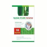 Plasturi Detoxifianti cu Bambus Narcis, 6 x 8cm, 10 buc