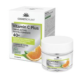 Crema Antirid pentru Fermitate 40+ Vitamin C Plus Cosmetic Plant, 50ml
