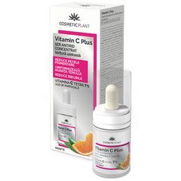 Ser Antirid Concentrat Uleios Vitamin C Plus Cosmetic Plant, 15ml