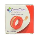 Banda Adeziva Suport Textil - Octamed OctaCare Cotton Surgical Tape, 1.25cm x 5m