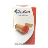 Banda Adeziva Suport Textil - Octamed OctaCare Cotton Surgical Tape, 10cm x 5m