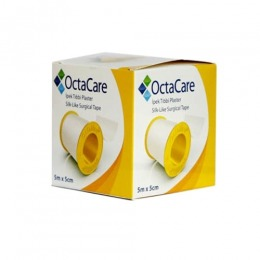 Imagine Banda Adeziva Suport Matase - Octamed Octacare Silk-like Surgical Tape, 5cm X 5m