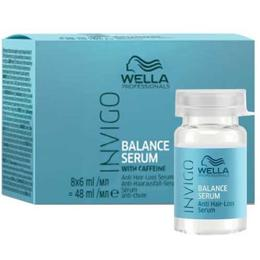 Ser Impotriva Caderii Parului - Wella Professionals Invigo Balance Anti Hair Loss Serum, 8 x 6ml