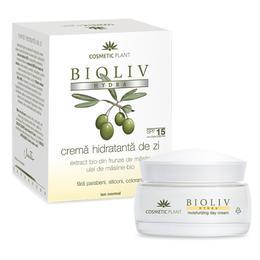 Crema Hidratanta de Zi SPF 15 Bioliv Hydra Cosmetic Plant, 50ml