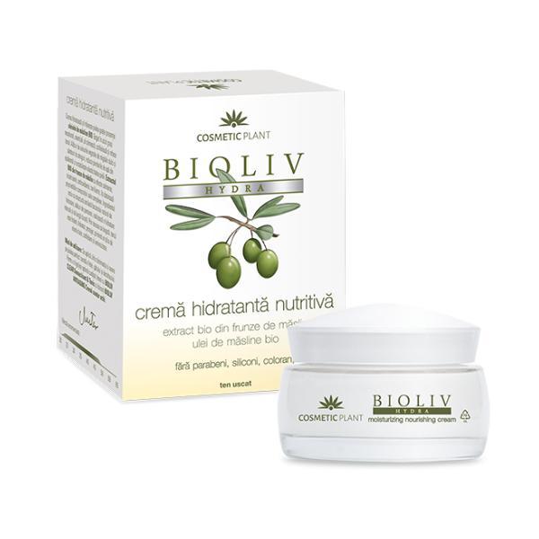 Crema Hidratanta Nutritiva Bioliv Hydra Cosmetic Plant, 50ml imagine produs