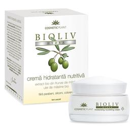 Crema Hidratanta Nutritiva Bioliv Hydra Cosmetic Plant, 50ml