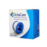 Banda Adeziva Transparenta Suport Plastic - Octamed OctaCare Transparent PE Surgical Tape, 1.25cm x 5m