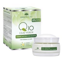 Crema Antirid de Noapte Q10 + Ceai Verde Cosmetic Plant, 50ml