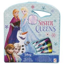 Set de colorat - Disney - Sister Queens