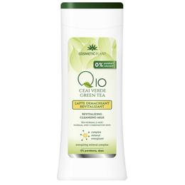 Lapte Demachiant Revitalizant Q10 + Ceai Verde Cosmetic Plant, 200ml