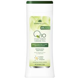 Lapte Revitalizant pentru Corp Q10 + Ceai Verde Cosmetic Plant, 200ml