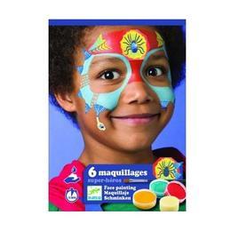 Atelier creativ pictura pe fata Supereroi 6 Maquillages, Super-heros