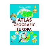 Atlas geografic Europa - Marius Lungu, editura Carta Atlas