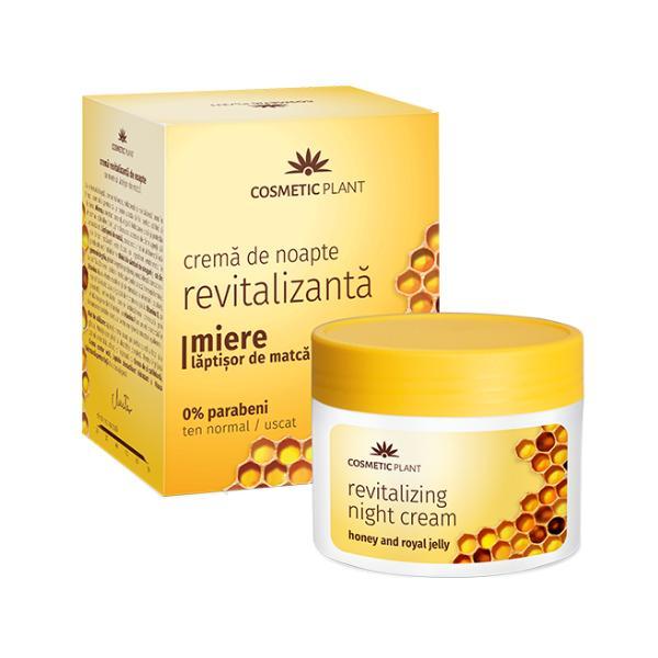 Crema de Noapte Revitalizanta cu Miere si Laptisor de Matca Cosmetic Plant, 50ml imagine produs