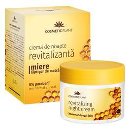 Crema de Noapte Revitalizanta cu Miere si Laptisor de Matca Cosmetic Plant, 50ml