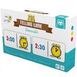 Joc domino pentru a invata cat este ceasul Telling time with dominoes
