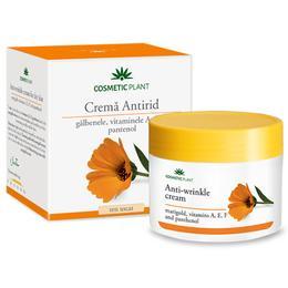 Crema Antirid cu Galbenele Cosmetic Plant, 50ml