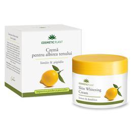 Crema pentru Albirea Tenului cu Lamaie si Papadie Cosmetic Plant, 50ml