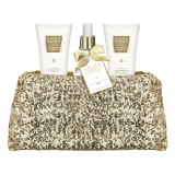 Set Cadou Baylis & Harding Sweet Mandarin & Grapefruit Clutch Bag Set - Gel de Dus 100ml, Lotiune de Maini si Corp 100ml, Spray de Corp 100ml