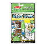 Carnet de colorat Water Wow!, Apa magica. Labirint