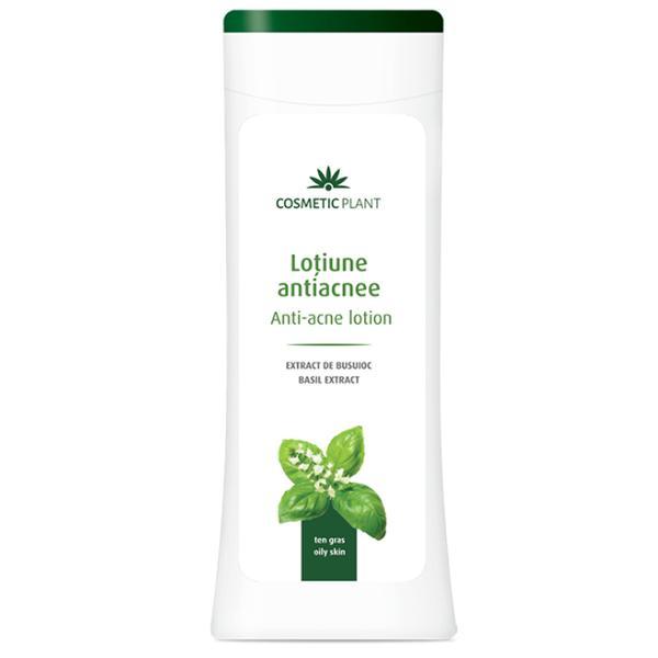 Lotiune pentru Tenul Acneic cu Extract de Busuioc Cosmetic Plant, 200ml imagine produs