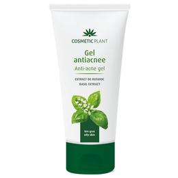Gel Antiacnee cu Extract de Busuioc Cosmetic Plant, 100ml