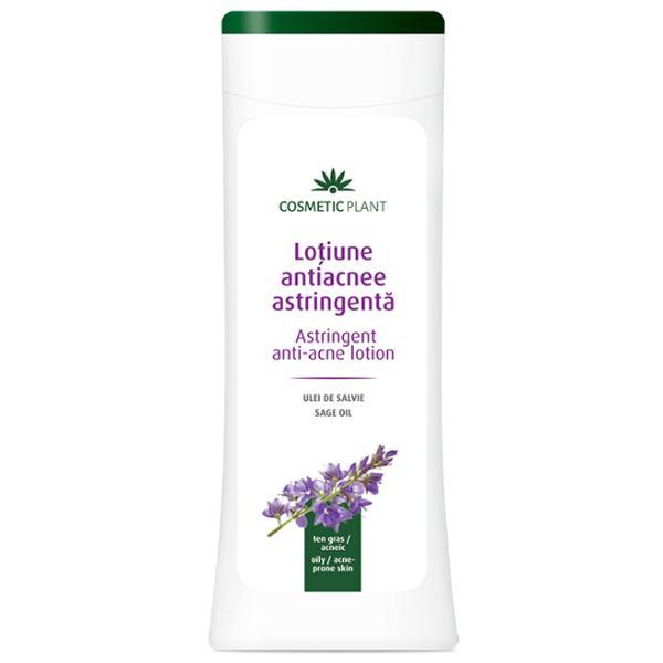 Lotiune Astringenta cu Ulei de Salvie pentru Tenul Acneic Cosmetic Plant, 200ml imagine produs
