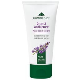 Crema Antiacnee cu Ulei de Salvie si Sulf Cosmetic Plant, 100ml