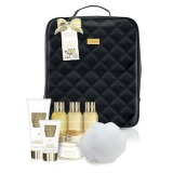 Set Cadou Baylis & Harding Sweet Mandarin & Grapefruit Backpack Set - Gel de Dus 200ml, Crema de Baie 100ml, Lapte de Baie 100ml, Gel de Dus 100ml, Unt de Corp 250ml, Crema de Maini 50ml, Burete de Baie