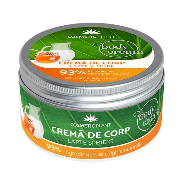 Crema de Corp cu Lapte si Miere Cosmetic Plant, 200ml imagine produs