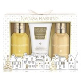 Set Cadou Baylis & Harding Sweet Mandarin and Grapefruit Small 3 Piece Set - Gel de Dus 100ml, Crema de Dus 100ml, Lotiune de Maini si Corp 50ml