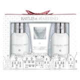 Set Cadou Baylis & Harding Jojoba, Silk and Almond Oil Small 3 Piece Set - Gel de Dus 100ml, Crema de Dus 100ml, Lotiune de Maini si Corp 50ml