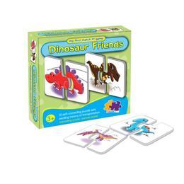 Puzzle cu dinozauri, 12 elemente - Disney Toy