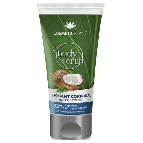 Exfoliant Corporal cu Nuca de Cocos Cosmetic Plant, 150ml imagine produs