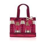 Set Cadou Baylis & Harding Midnight Fig & Pomegranate 5 Piece Bag Set - Gel de Dus 100ml, Crema de Dus 100ml, Sampon 50ml, Balsam 50ml, Lotiune de Maini si Corp 100ml