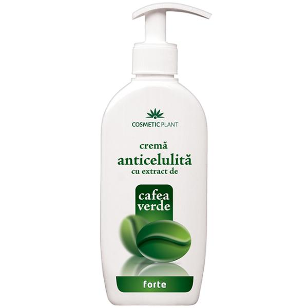 Crema Forte pentru Celulita cu Extract de Cafea Verde Cosmetic Plant, 250ml imagine produs