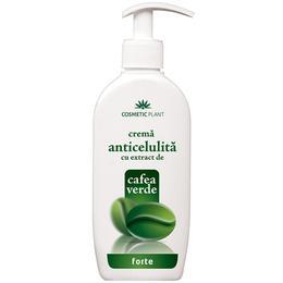 Crema Anticelulita Forte cu Extract de Cafea Verde Cosmetic Plant, 250ml