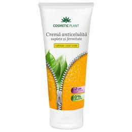 Crema Anticelulita Suplete si Fermitate cu Cafeina si Ceai Verde Cosmetic Plant, 200ml