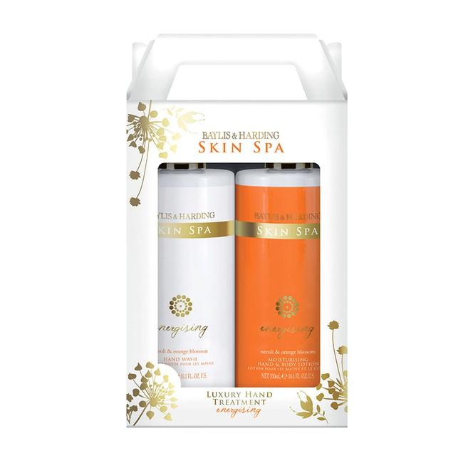 Set Cadou Baylis & Harding Skin Spa Energising 2 Bottle Box Set - Sapun Lichid 300ml, Lotiune de Maini si Corp 300ml imagine produs