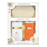 Set Cadou Baylis & Harding Skin Spa Energising Benefit Set - Gel de Dus 500ml, Lapte de Baie 500ml, Manusa Exfolianta