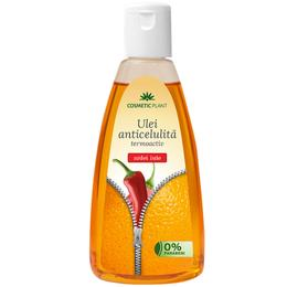 Ulei Anticelulita Termoactiv cu Extract de Ardei Iute Cosmetic Plant, 200ml de la esteto.ro