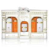 Set Cadou Baylis & Harding Skin Spa Energising Spa Shop Set - Gel de Dus 250ml, Crema de Baie 250ml, Crema de Corp 100ml, Crema de Maini 100ml, Lumanare Parfumata