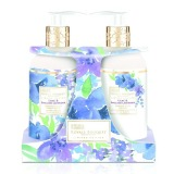 Set Cadou Baylis & Harding Royale Bouquet Lilac & English Lavender - Sapun Lichid 300ml, Lotiune de Maini si Corp 300ml