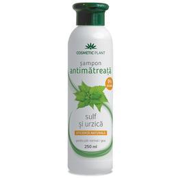 Sampon Antimatreata cu Sulf si Urzica Cosmetic Plant, 250ml