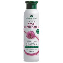 Sampon Stop! Caderii Parului cu Trifoi Rosu si Pantenol Cosmetic Plant, 250ml