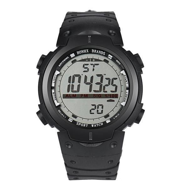 Ceas Barbatesc, Honhx curea silicon, digital watch