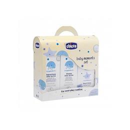 Set sampon, spuma si apa de colonie - Chicco Baby Moments II - 500 ml