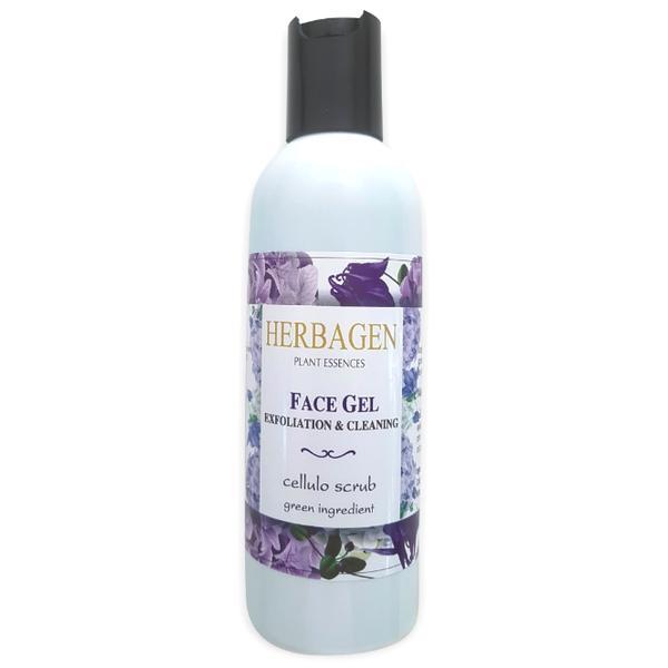 Gel Facial Exfoliant Herbagen, 150ml imagine produs