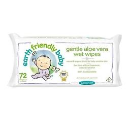 Servetele umede cu mușețel si aloe vera - Earth Friendly Baby 72 buc