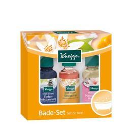 Set esente de baie Momente speciale, relaxare profunda 20 ml, stress free 20 ml, floare de migdal 20 ml - Kneipp
